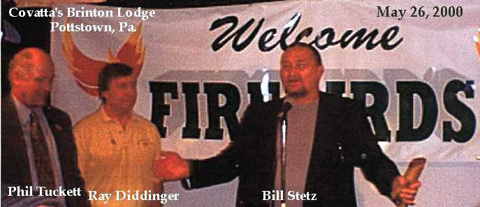 bill stetz pottstown firebirds reunion
